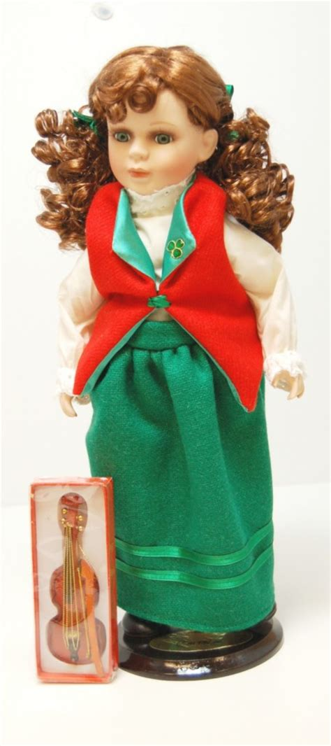 porcelain doll name brands a crolly doll quot caithlin quot 17 quot porcelain doll brand new ebay