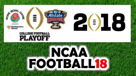 libro nationwide football annual 2017 2018 2017 2018 college football playoff simulation semi finals national chionship top 25