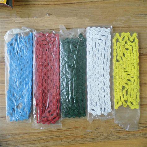 cadenas bici colores cadena de bicicleta de color compra lotes baratos de