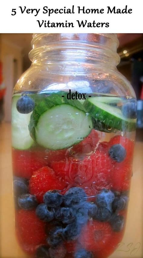 Mcgee Detox by 5 Special Home Made Vitamin Waters Recovery C Power