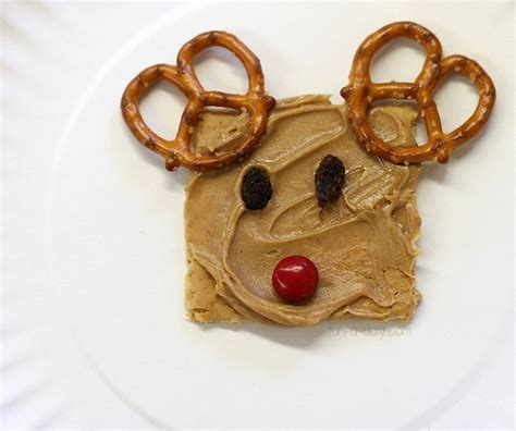 reindeer christmas snacks for kids