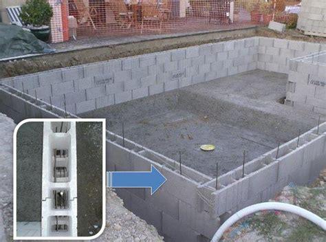 Ferraillage Bloc A Bancher 5090 by Construction De Piscine Sur Fr 233 Jus Puget Sur Argens