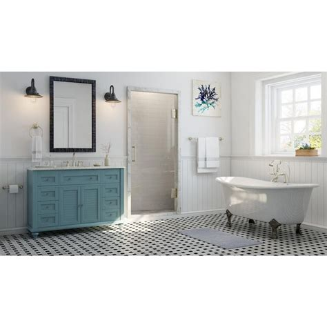 home decorators collection hamilton 49 in vanity in grey 1000 ideas about granite vanity tops on pinterest