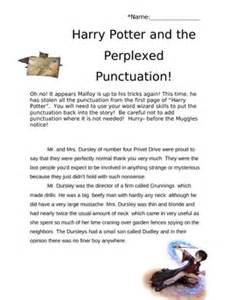 Harry Potter Analysis Essay by Best 25 Punctuation Activities Ideas Only On Descriptive Grammar Ela Anchor Charts