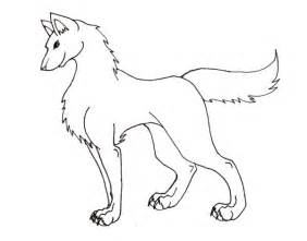 Outlines Of Wolves by Wolf Outline By Black Shirt Tie On Deviantart