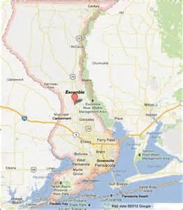 escambia county florida map