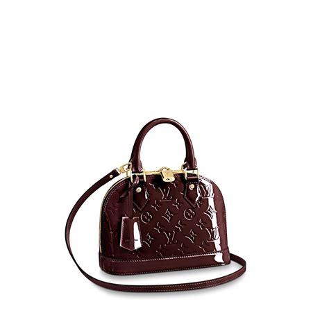 L Is Vuitton Alma Mini Damier alma bb monogram vernis leather handbags louis vuitton