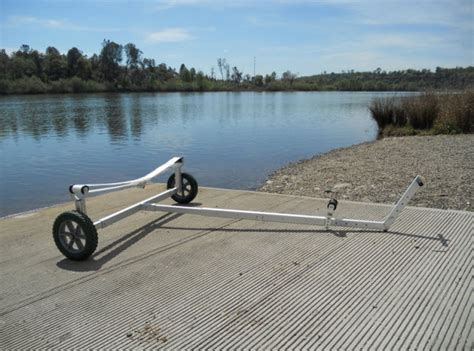 pelican pedal boat dolly wheeleez boat dolly hand maneuvering trailer w 38cm 15