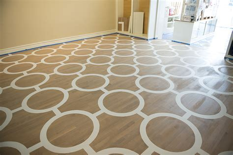 Beautifully Painted Decorative Floors in Virginia Holtz