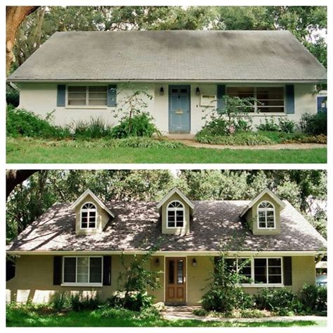 home reno exterior before and after home sweeeet home