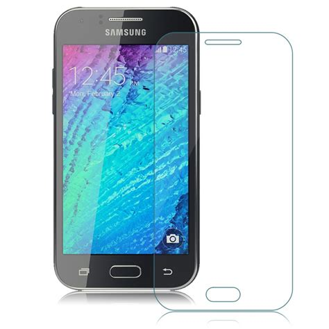 Smile Hd Tempered Glass Samsung Galaxy J1 Ace J110 9h premium real tempered glass screen protector for