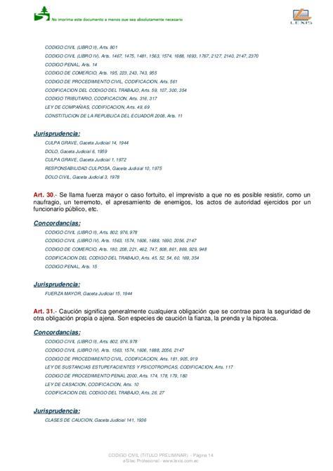 cdigo civil ecuatoriano actualizado codigo civil ecuatoriano actualizado hasta agosto del 2011