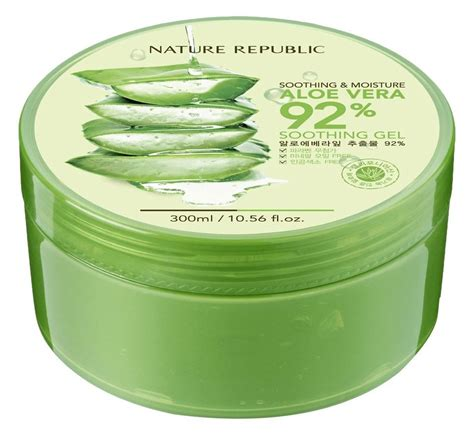 Aloe Vera Nature Republic 25 Ml republic aloe vera gel 300ml 10 56 fluid ounce ebay