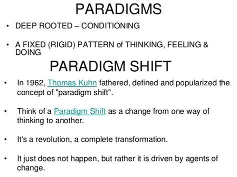 pattern change meaning challenge your paradigm