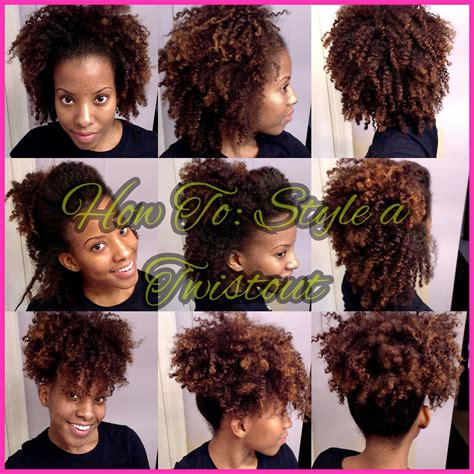 natural hair after five styles four easy styles with a twist out quot natural hair quot youtube