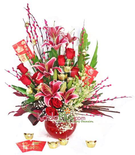 new year flower arrangement 2016 new year arrangement 7 toko bunga