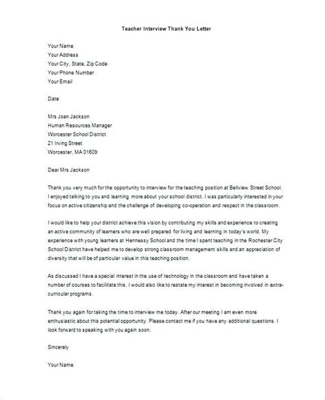 thank you letter after manager position thank you letter after for hr manager position