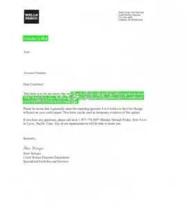 wells fargo credit card deletion letter