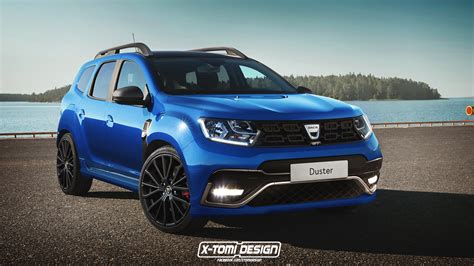 renault duster 2018 2018 dacia duster gt rendering deserves 200 hp autoevolution