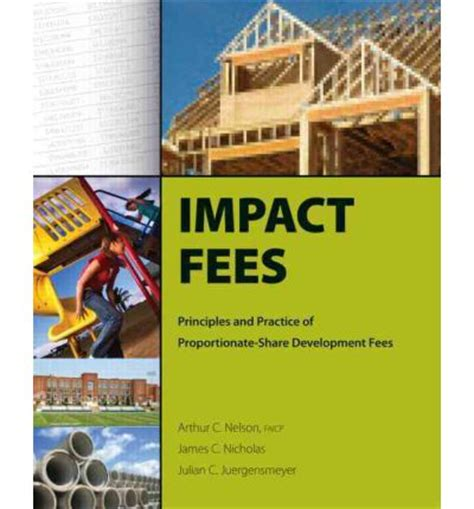 impact a safeguard novel books impact fees principles and practice of proportionate