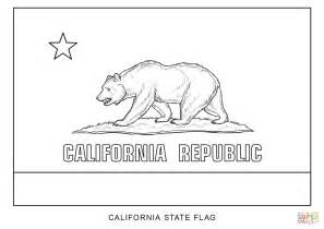 california state color flag of california coloring page free printable coloring