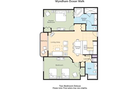 daytona suites 2 bedroom club wyndham wyndham walk