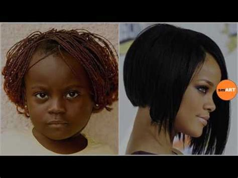 Easy At Home Black Hairstyles | easy black girl hairstyles cute black kid hairstyles you