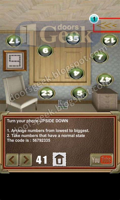 doors of revenge level 15 solution 100 doors of revenge level 41 doors geek