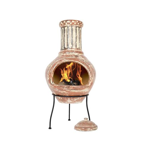 Large Chiminea Clay large clay chiminea by oxford barbecues notonthehighstreet