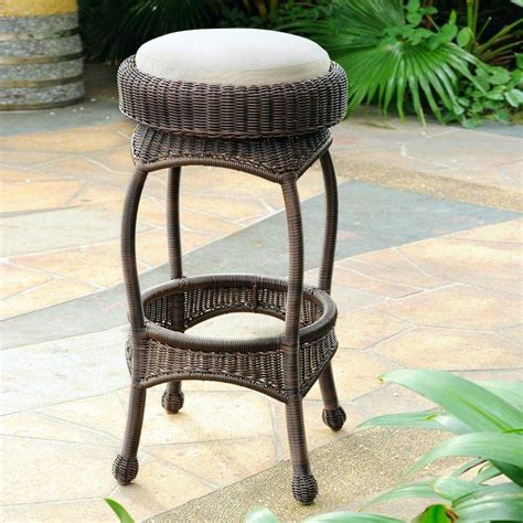 Wicker Backless Counter Stools by South Sea Rattan Bar Wicker Cushion Backless Counter Stool