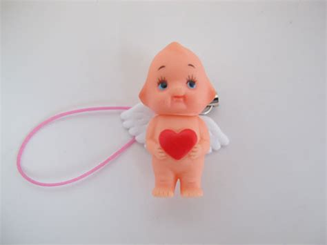 kewpie keychain puchi wing kewpie with keychain goods from japan