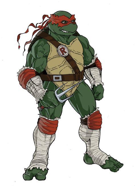 teenage mutant ninja turtles sketch of raphael by