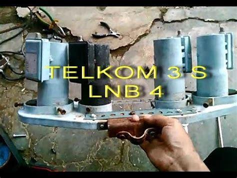 Cara Setting 4 Lnb cara merubah telkom 3 s lnb 4 setting reciever parabola terbaru