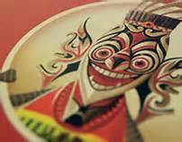 design wonderfull indonesia po o mikku brand identity on behance