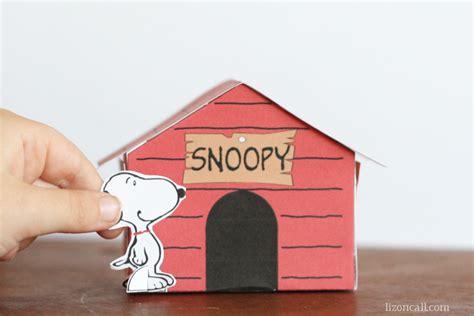 snoopy and his dog house 아이의 입체적 사고력을 길러주는 미술활동자료 ㅣ 유아미술