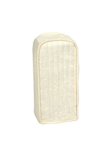 ritz quilted natural ivory appliance cover ritz quilted kitchen appliance standard size blender
