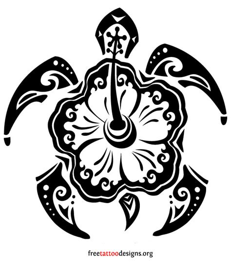 polynesian tattoo turtle designs turtle hibiscus turtle tattoos polynesian and