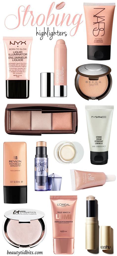 Let it Glow! The Best Highlighters For Strobing   Bloggers