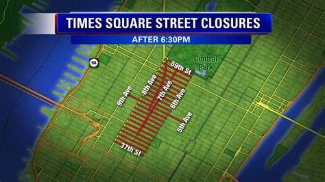 new year road closures nyc rings in 2015 in times square abc7ny