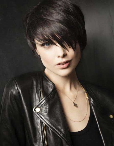 edgy dark hairstyles 10 new edgy pixie cuts pixie cut 2015