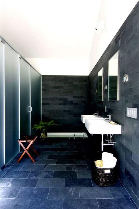 black slate bathrooms great slate tile decorating ideas