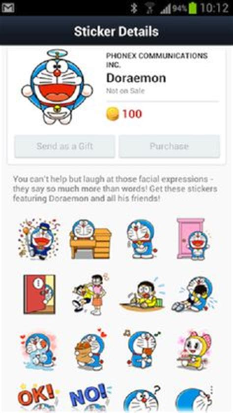theme line android doraemon free facebook stickers store free download facebook stickers