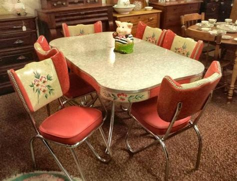 vintage kitchen table and chairs vintage kitchen kitsche