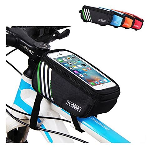 best front bike light top tube bike frame bag leccer super light cycling bicycle