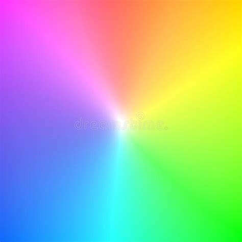 color image rainbow spectrum colors stock photo image of fanned
