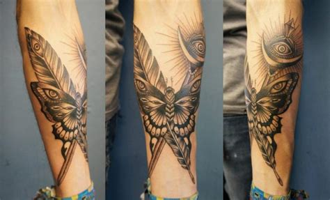 dotwork tattoo history arm butterfly dotwork tattoo by evil from the needle