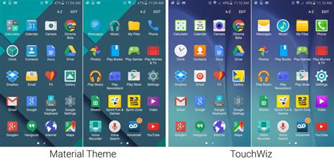 gallery themes for android gallery the galaxy s6 theme store gets a sweet stock