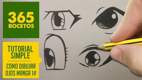imagenes de ojos kawaii como dibujar ojos manga facil paso a paso kawaii aprender