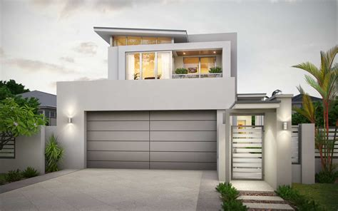 narrow lot home designs modern narrow lot 2 storey design in mount pleasant