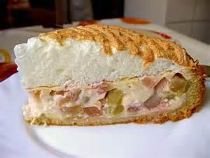 rhabarber pudding kuchen rhabarberkuchen mit pudding rezepte chefkoch de